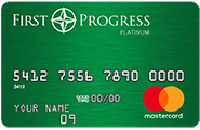 First Progress Mastercard Secured Credit Card | The Loaded Pig