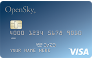Open Sky Secured Visa Credit Card | The Loaded Pig
